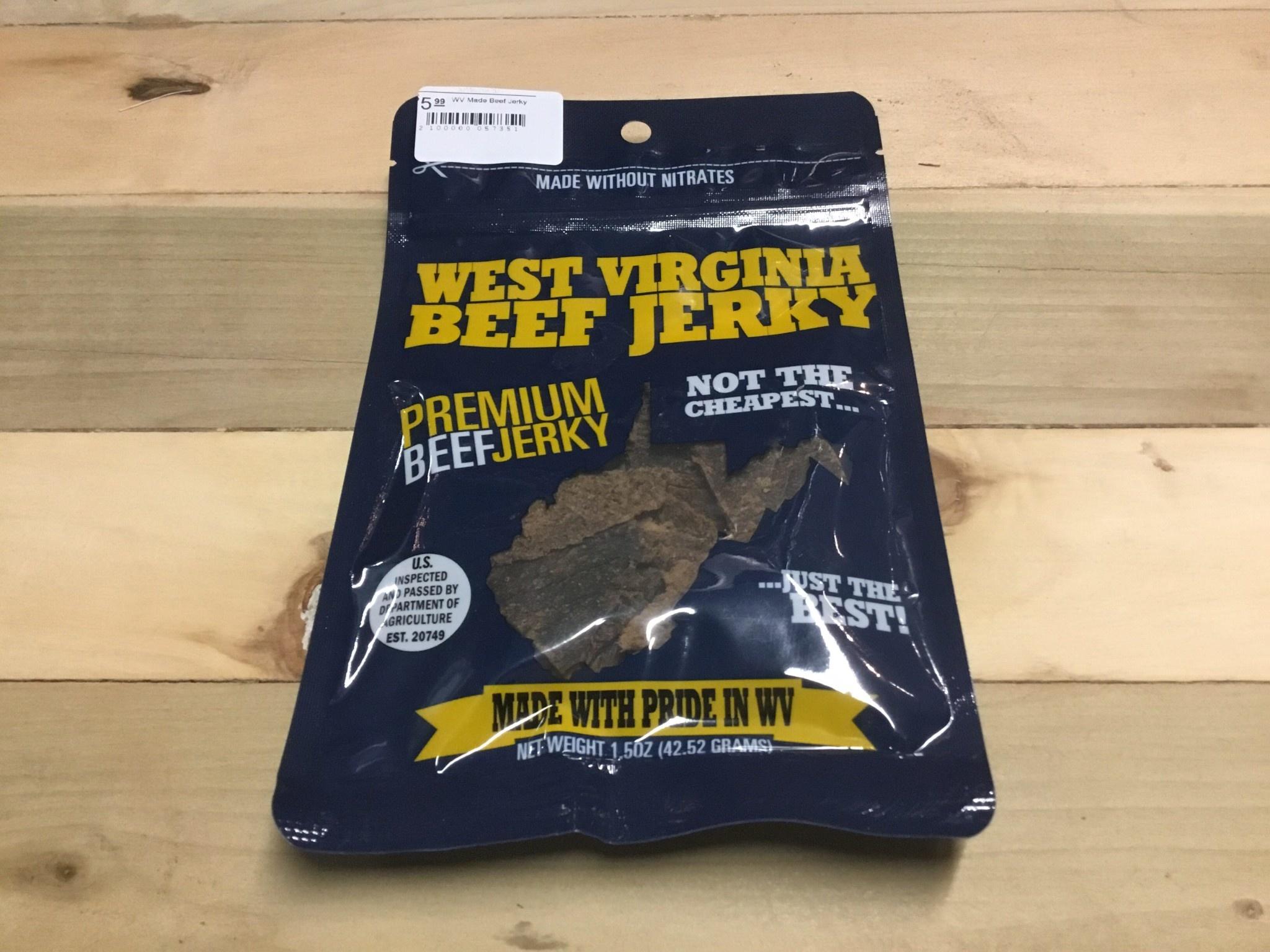 WV Made Beef Jerky