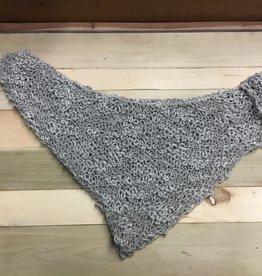 Maggi Rhudy Maggi triangle scarf grey