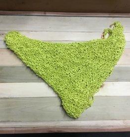 Maggi Rhudy Maggi triangle scarf yellow