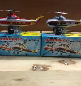 Tyler Elliott Tin Helicopter Toy w/box