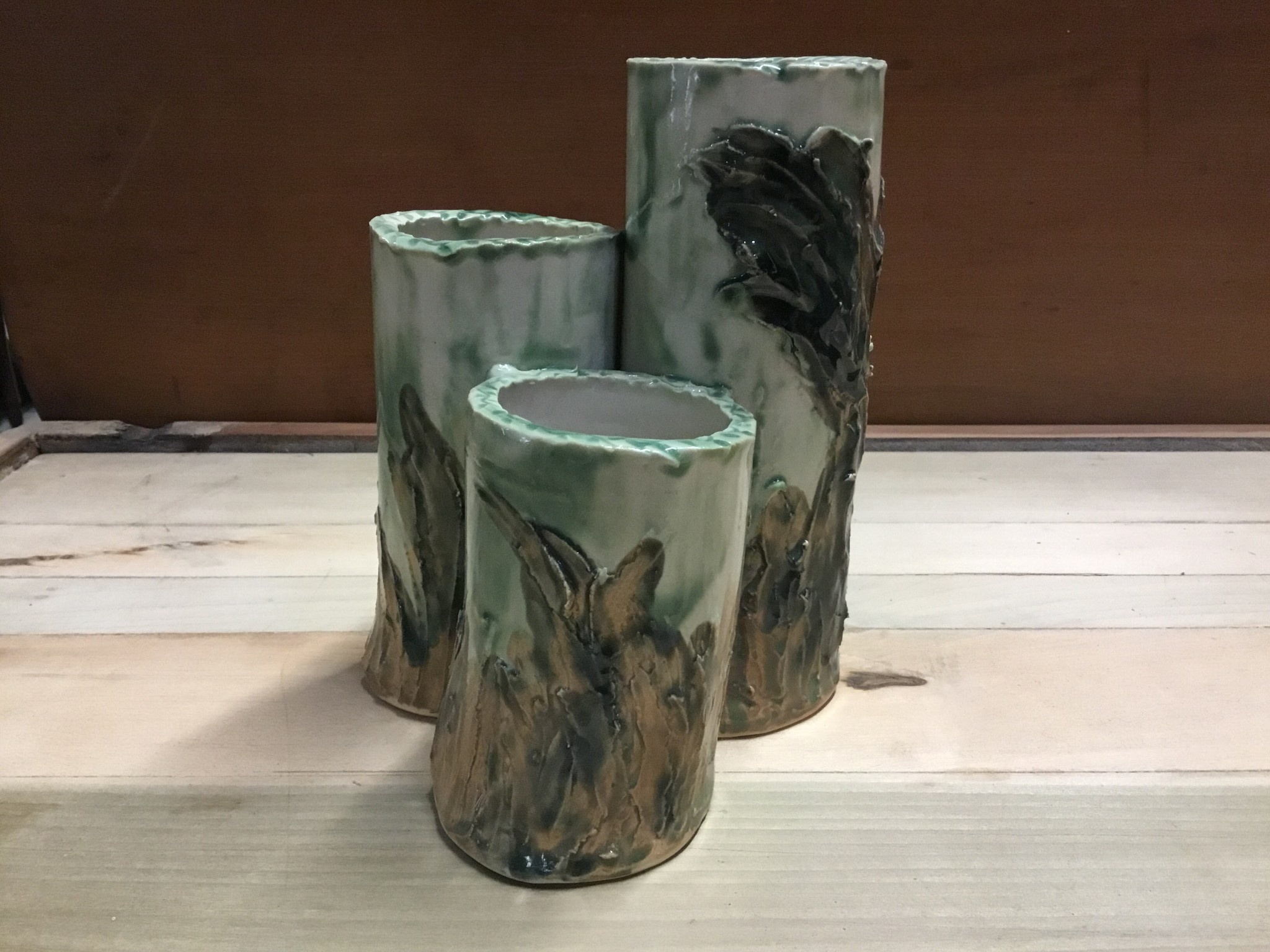 Joan Harvey Harvey - 3 Prong Vase
