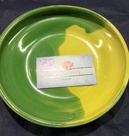 Joan Harvey Harvey - Yellow Green Plate