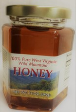 Mountain State Honey Company Mtn State Honey 12 oz. Goldenrod Hex Jar