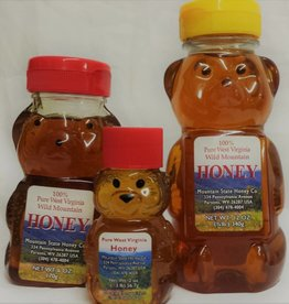 Mountain State Honey Company Mtn State Honey 2 oz. Sourwood Bear