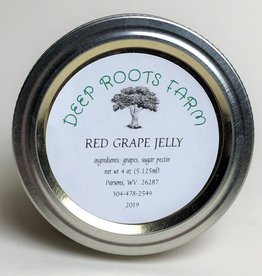 Deep Roots Farm Deep Roots Red Grape Jelly
