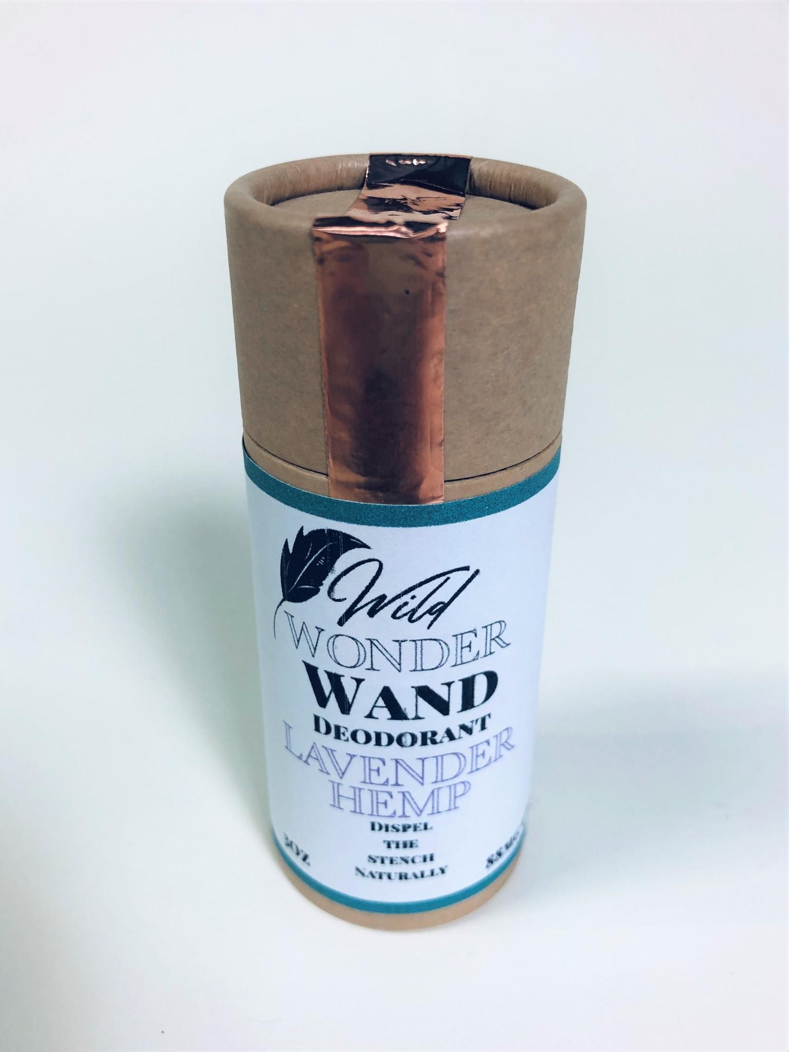 Wild Wonder Lavender Hemp Deodorant
