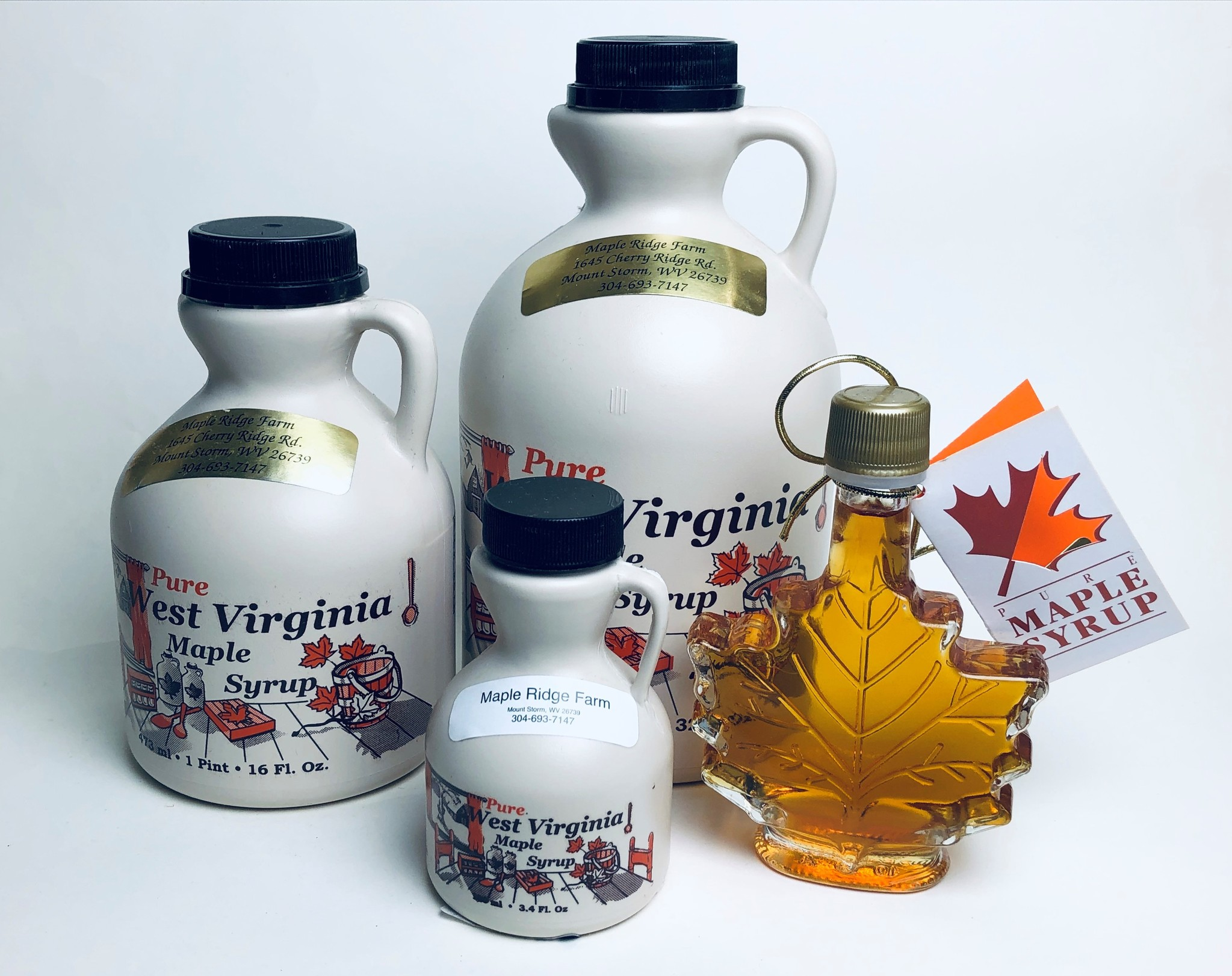 Maple Ridge Farms - Half Gallon Maple Syrup