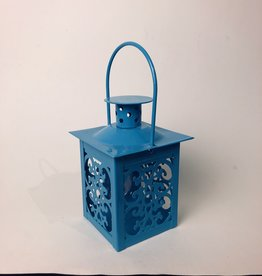 thomasyard finds Small Metal Blue Lantern