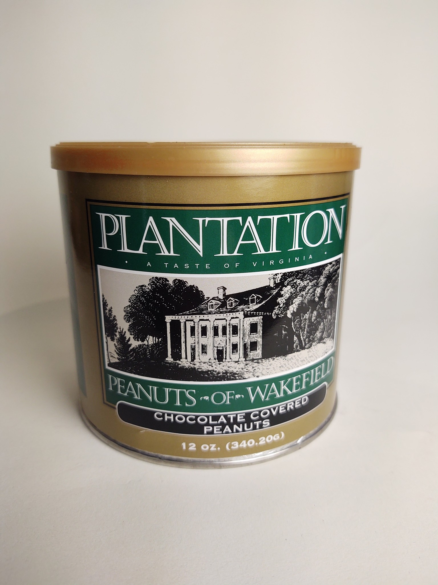 Plantation Peanuts of Wakefield Plantation Peanuts 12 oz. Dark Chocolate Peanuts