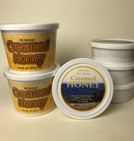 Mountain State Honey Company Mtn State Honey 16 oz. Creamed Tub