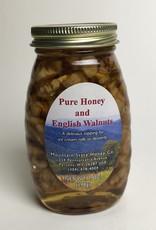 Mountain State Honey Company Mtn State Honey 7 oz. Honey & English Walnuts Jar