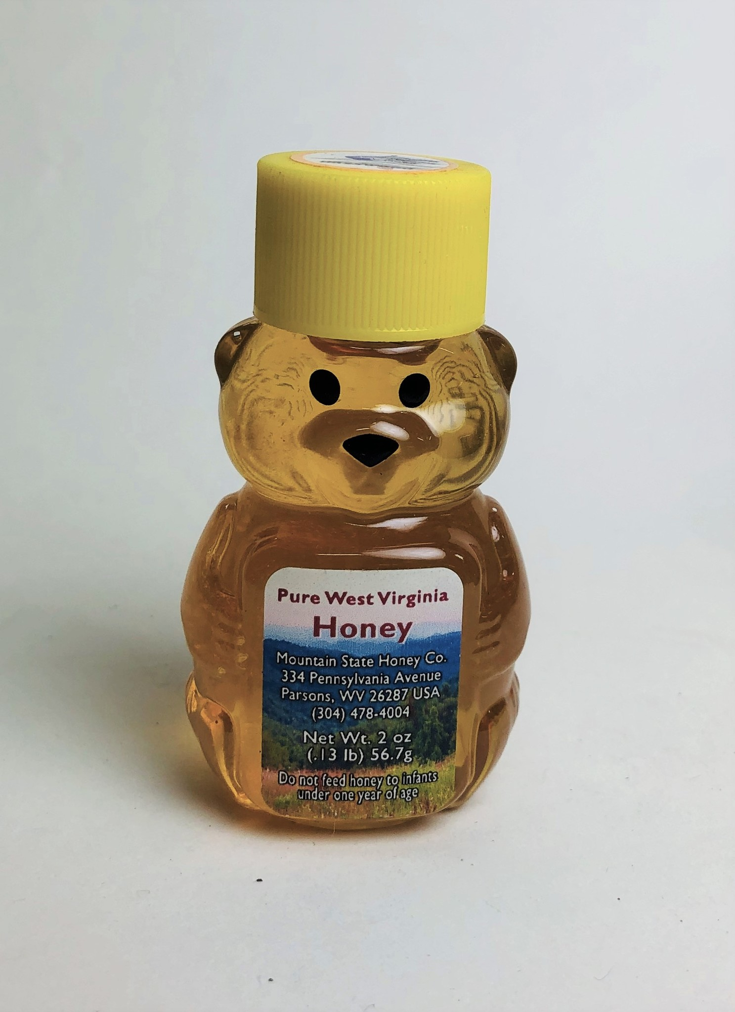 Mountain State Honey Company Mtn State Honey 2 oz. Goldenrod Bear