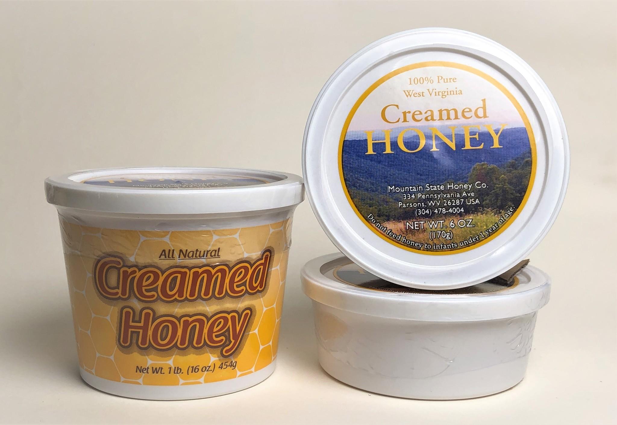 Mountain State Honey Company Mtn State Honey 6 oz. Creamed Tub