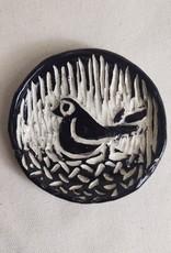 Nanette Small round Dish – Bird on Nest