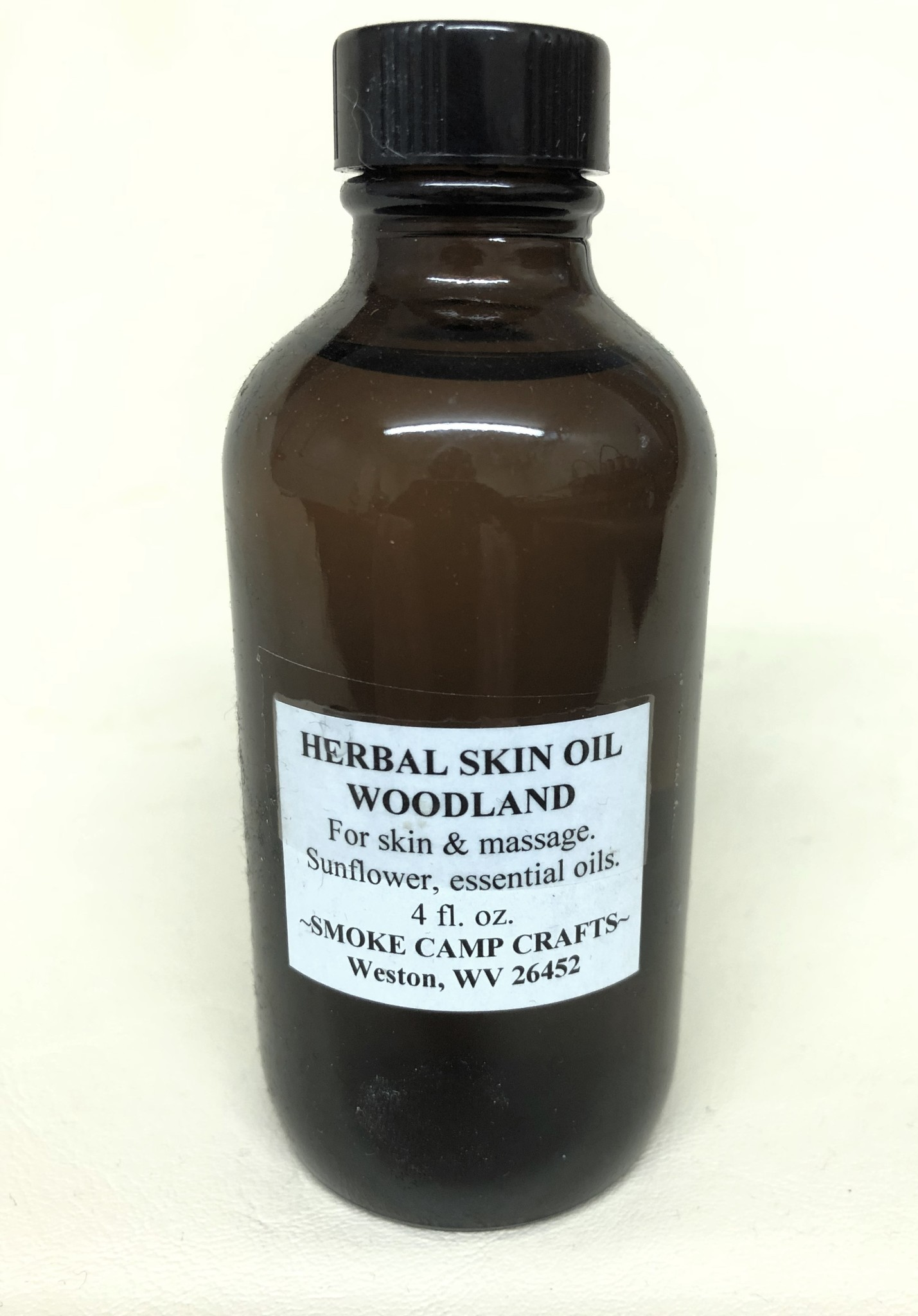 Smoke Camp Smoke Camp Herbal Skin Oil - Woodlands 4 oz