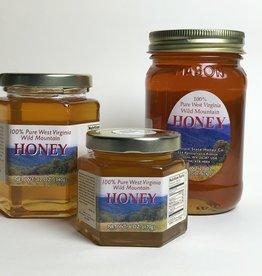 Mountain State Honey Company Mtn State Honey 9 oz. Tulip Poplar Hex Jar