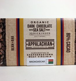 Appalachian Chocolate Dark Chocolate W/Sea Salt Bar 80%