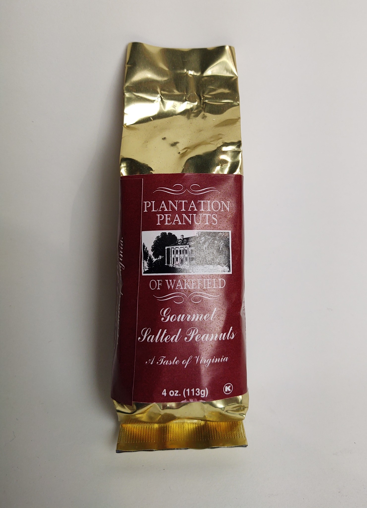 Plantation Peanuts of Wakefield Plantation Peanuts 4 oz. Gourmet Salted Peanuts