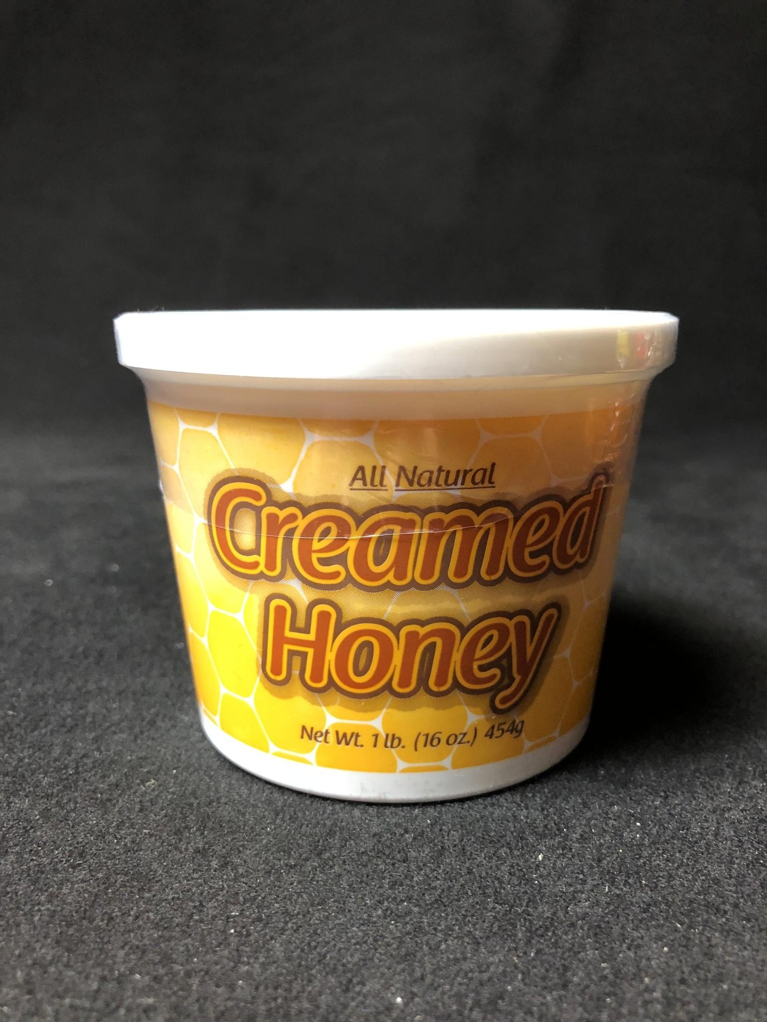 Mountain State Honey Company Mtn State Honey 6 oz. Creamed Raspberry