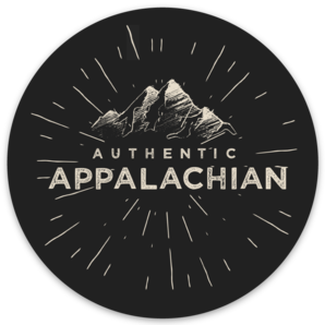 Loving WV Authentic Appalachian  Sticker