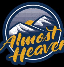 Loving WV Almost Heaven Sticker