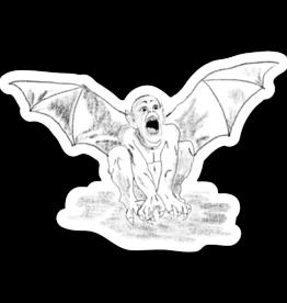Loving WV Bat Boy Sticker