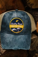 Loving WV Country Roads Patch Trucker Hat