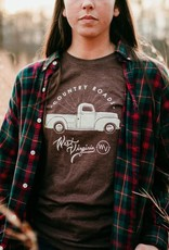 Loving WV Country Roads Truck Tee Sm