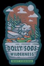 Loving WV Dolly Sods Wilderness Sticker