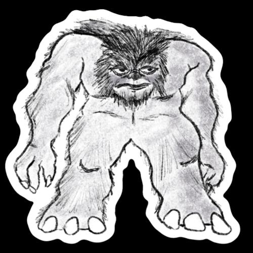 Loving WV Grafton Monster Sticker