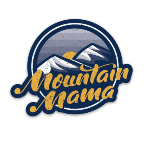 Loving WV Mountain Mama Sticker