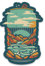 Loving WV New River Gorge Beer Sticker