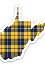 Loving WV Plaid WV Sticker