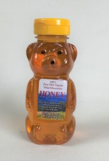 Mountain State Honey Company Mtn State Honey 12 oz. Basswood Bear