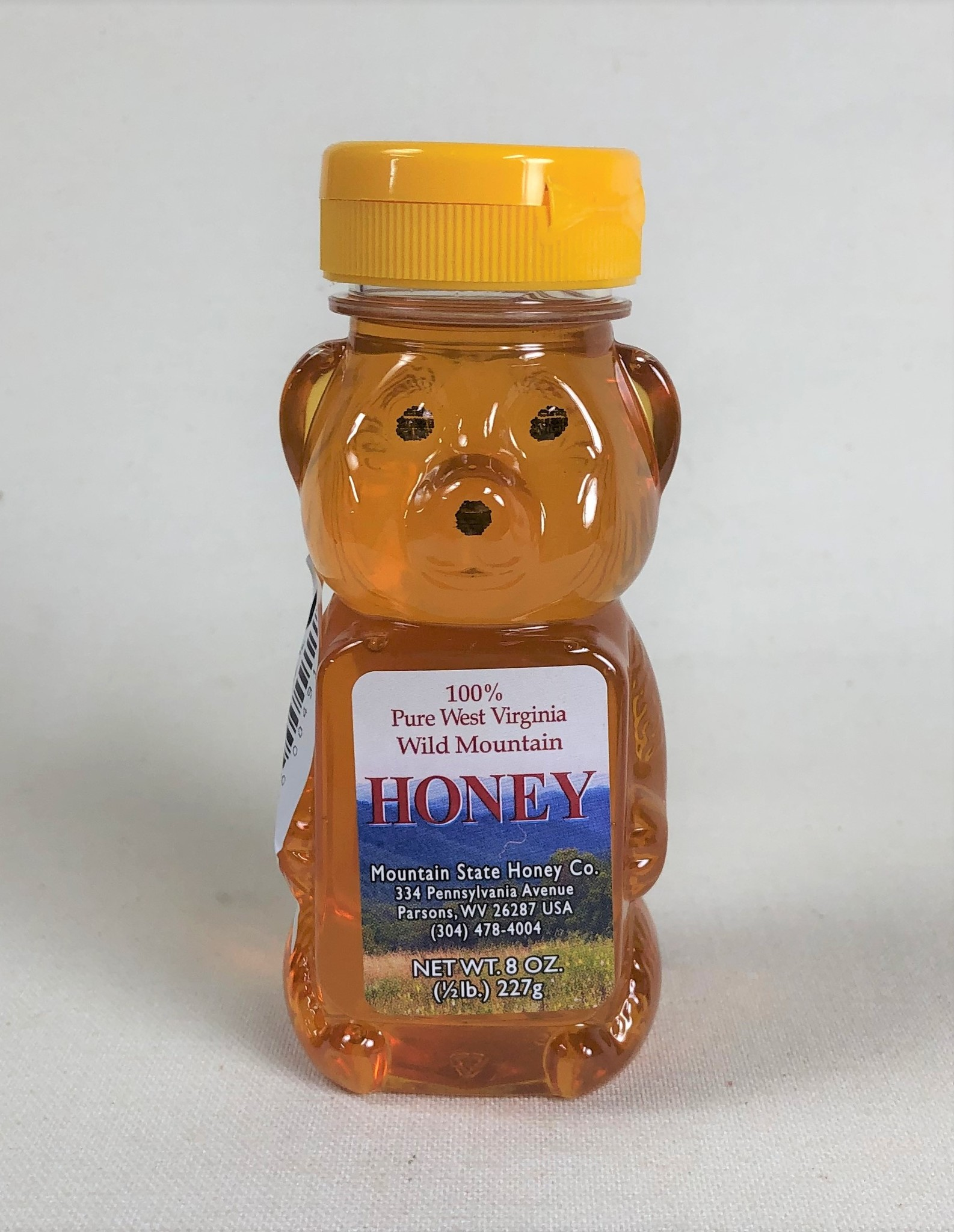 Mountain State Honey Company Mtn State Honey 8 oz. Honeysuckle Bear