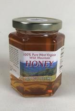 Mountain State Honey Company Mtn State Honey 12 oz. Basswood Hex Jar