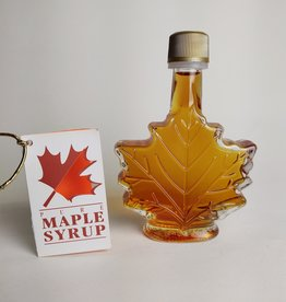 Maple leaf maple syrup
