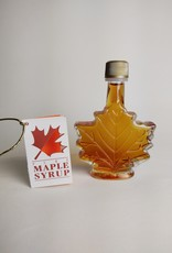 Maple Ridge Farms - Maple Leaf glass 3.4 oz. Maple Syrup