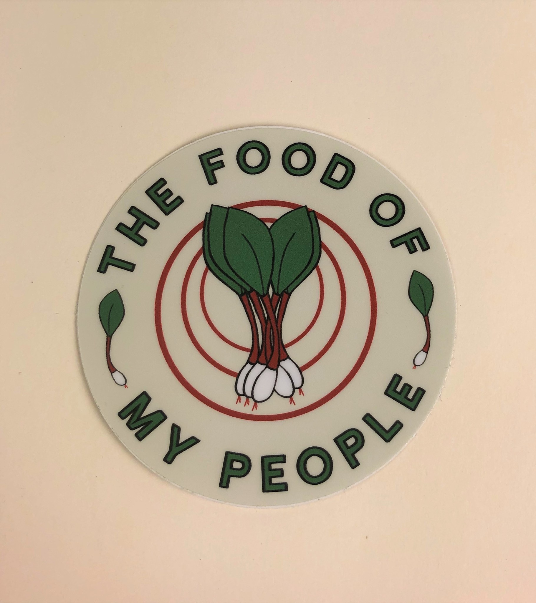 Loving WV Ramps Food of My People Sticker