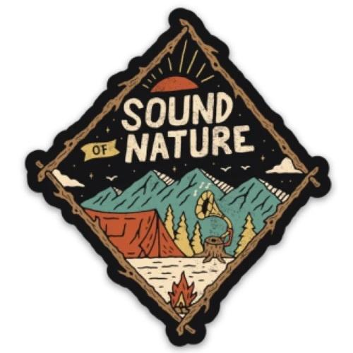 Loving WV Sound of Nature Sticker