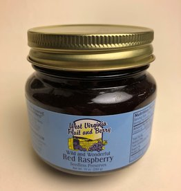 West Virginia Fruit and Berry WVF&B 10 oz. Red Raspberry Preserves