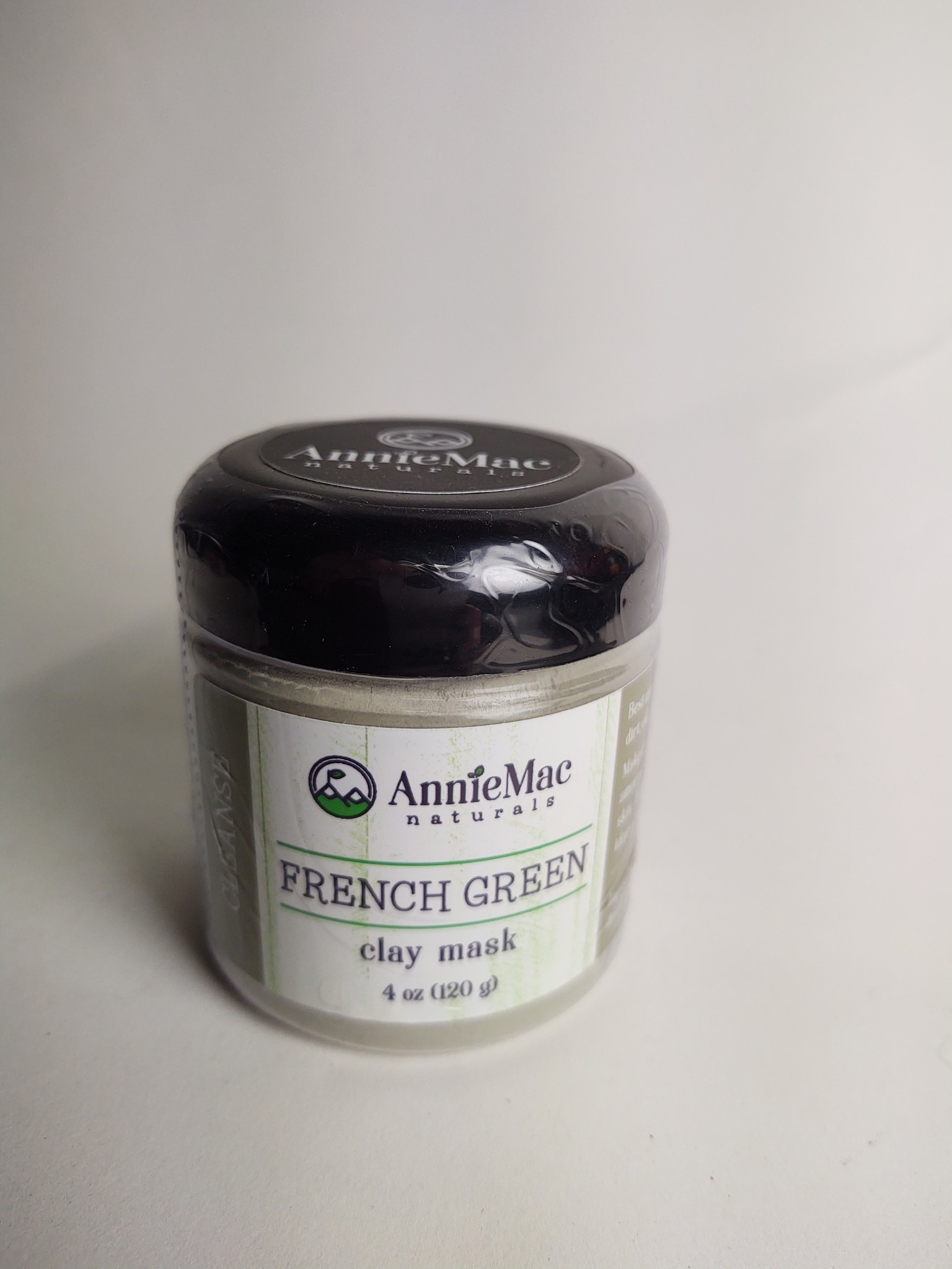 Annie Mac WG&S French Green Clay Mask Large