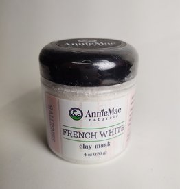 Annie Mac WG&S French White Clay Mask Large