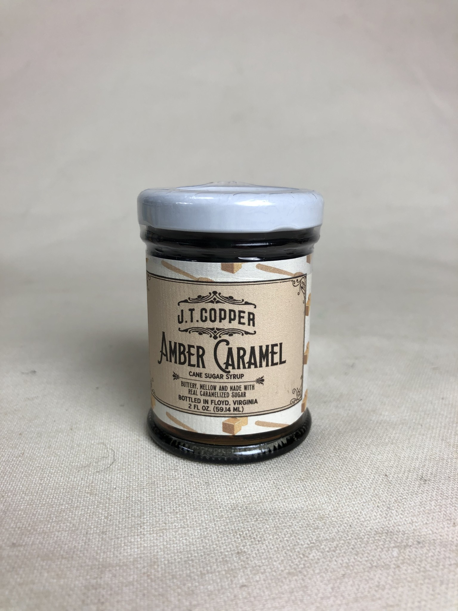 JTC Amber Caramel Cane Syrup