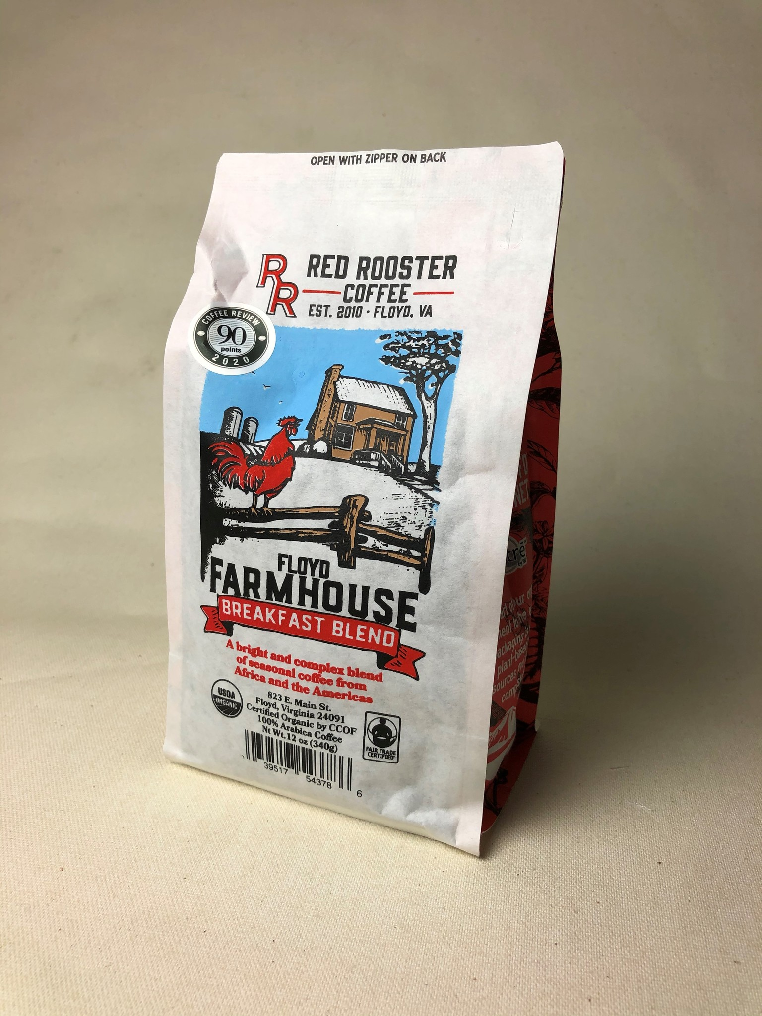 Red Rooster Coffee Farmhouse Brkfst Blend