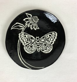 Nanette Butterfly & Coneflower Bowl