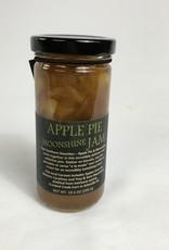 Copper Pot  & Wooden Spoon Apple Pie Moonshine Jam