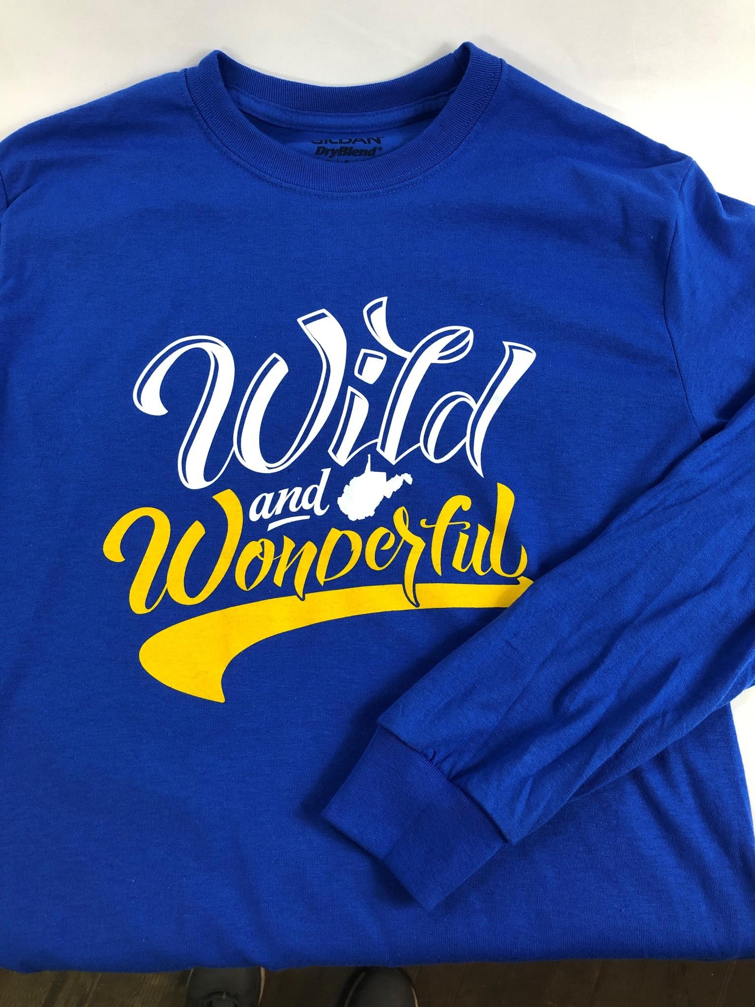 Loving WV Wild & Wonderful Hoodie Lg
