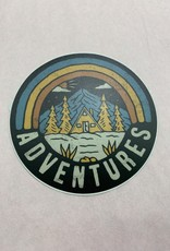 Loving WV Adventure Sticker