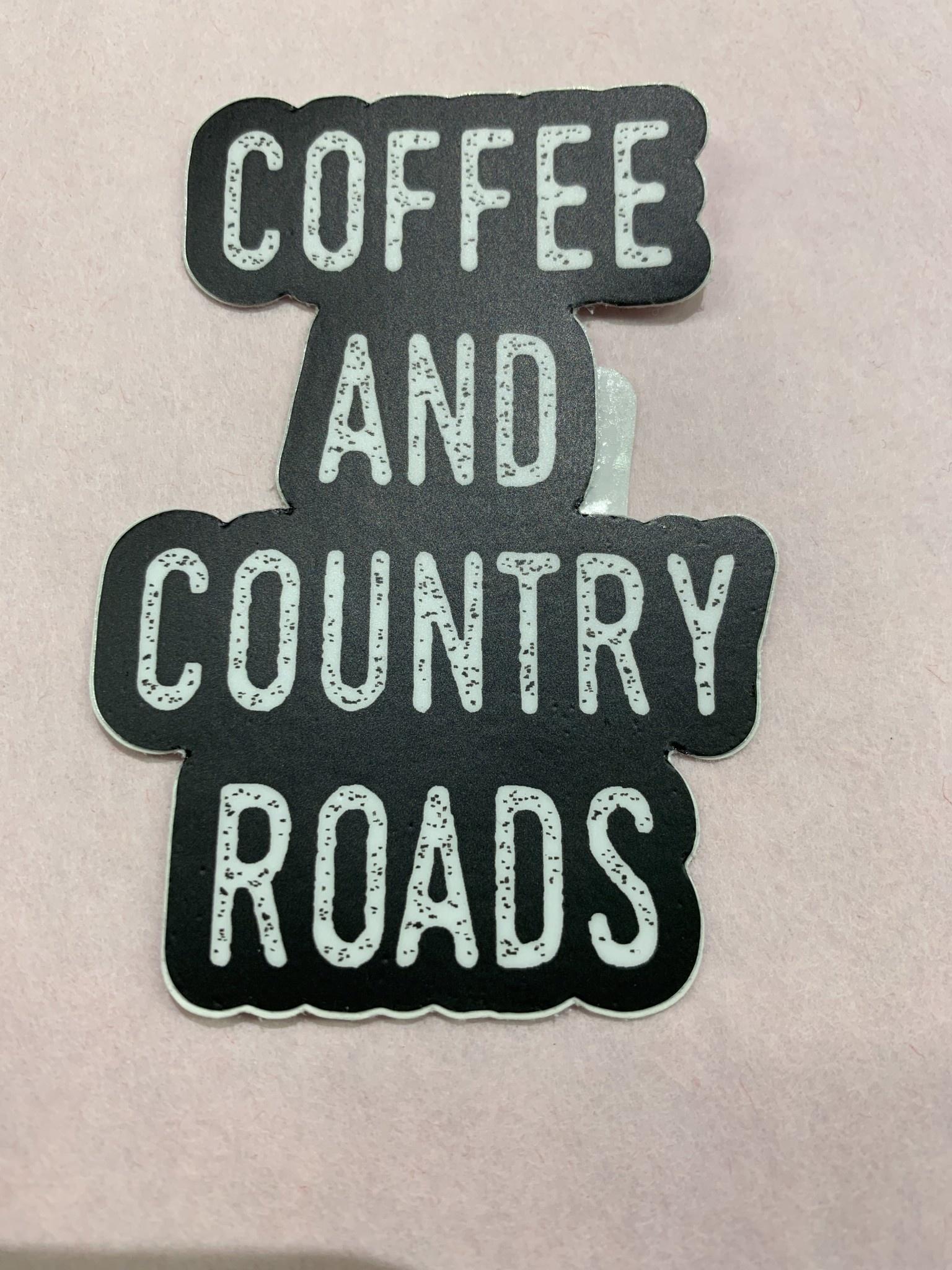Wild & Wonderful Lifestyle Company Coffee Country Roads Sticker